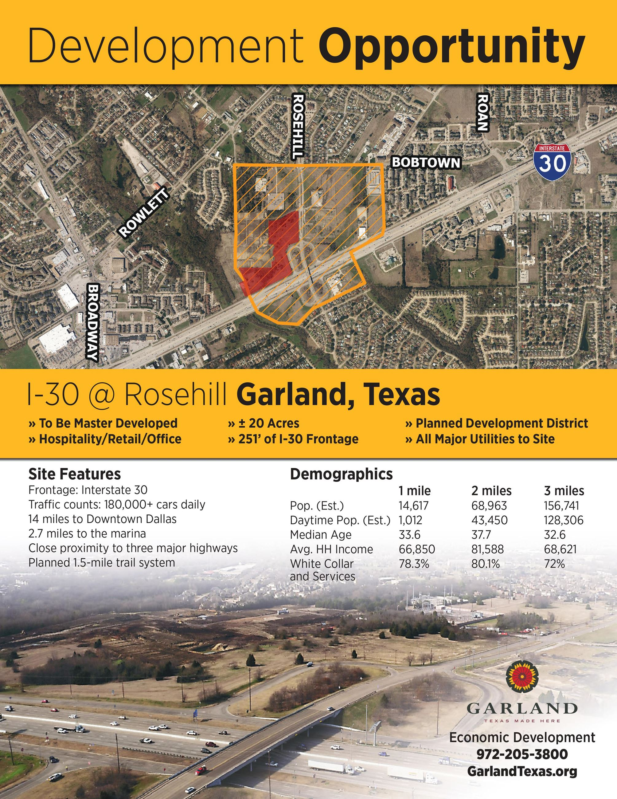 Rosehill Development Opportunity Flyer