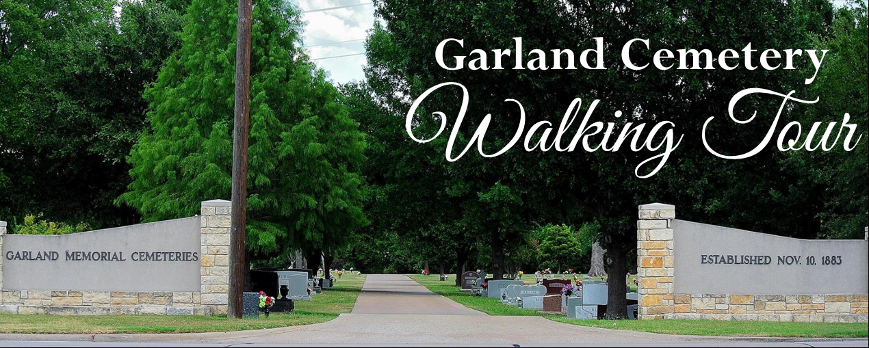 Cemetery Walking Tour header