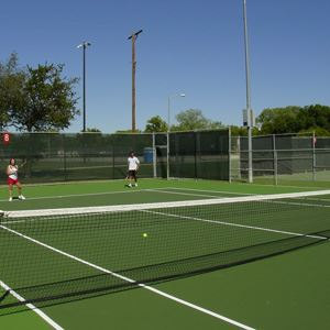Tennis Court at Jack Coleman Tennis Center